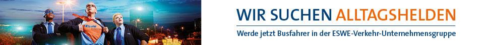 Wir suchen ALLTAGSHELDEN - Werde jetzt Busfahrer in der ESWE-Verkehr-Unternehmensgruppe