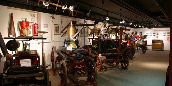 Das Wiesbadener Feuerwehrportal zu Besuch: Feuerwehrmuseum Wiesbaden