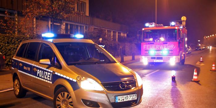 Gartenhütte brennt – Zwei Personen festgenommen