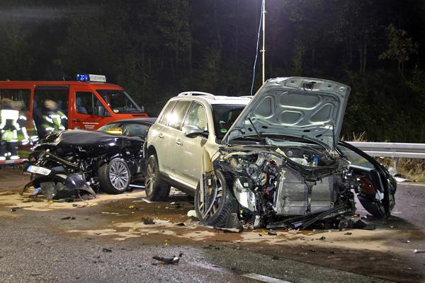 Tödlicher Zusammenstoß mit Geisterfahrer auf der A3 – Unfallverursacher flüchtet