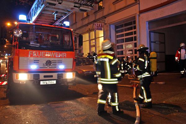 Feuer in Küche schnell gelöscht – 10.000 Euro Sachschaden