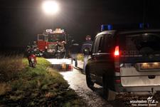 Lebloser Rollerfahrer auf Feldweg in Delkenheim gefunden