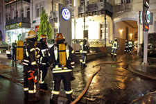 Feuer in Büro: Schnelles Eingreifen verhindert Schlimmeres