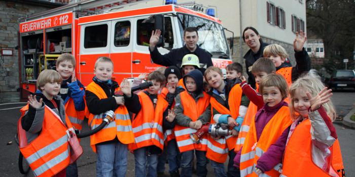 Gelungener Start für Sonnenberger Kinderfeuerwehr