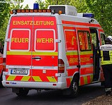 Zimmerbrand in leerstehendem Haus in Mainz-Weisenau