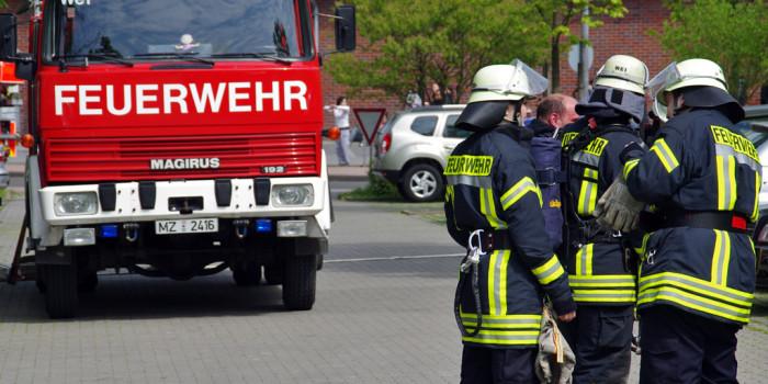 Gartenlaube in Mainz-Bretzenheim niedergebrannt