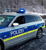Unfall auf der Einsatzfahrt: Zusammenstoß mit Streifenwagen