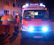 Fußgänger auf der Taunusstraße angefahren und schwer verletzt