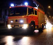 Brand einer Großraum-Mülltonne in der Goebenstraße