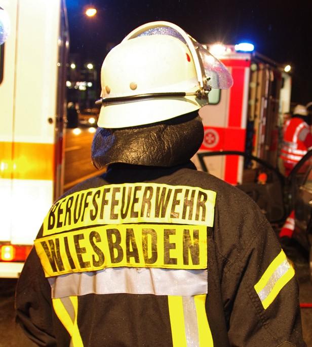 Berufsfeuerwehr Wiesbaden sucht Brandinspektoranwärter/-innen