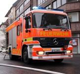 LKW-Fahrer löscht Reifenbrand mit Tee
