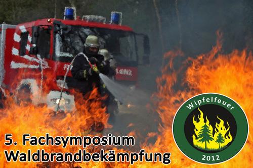 """Fünftes Waldbrand-Fachsymposium """"Wipfelfeuer"""""""