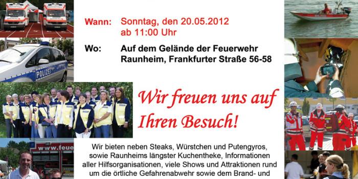 Sonntag: Tag der Hilfsorganisationen in Raunheim