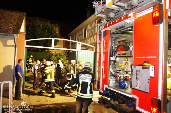 Trockner in Igstadt in Brand geraten