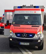 Kind vor Rettungswagen gelaufen und schwer verletzt