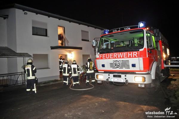 Feuer im Bad in Nordenstadt schnell gelöscht