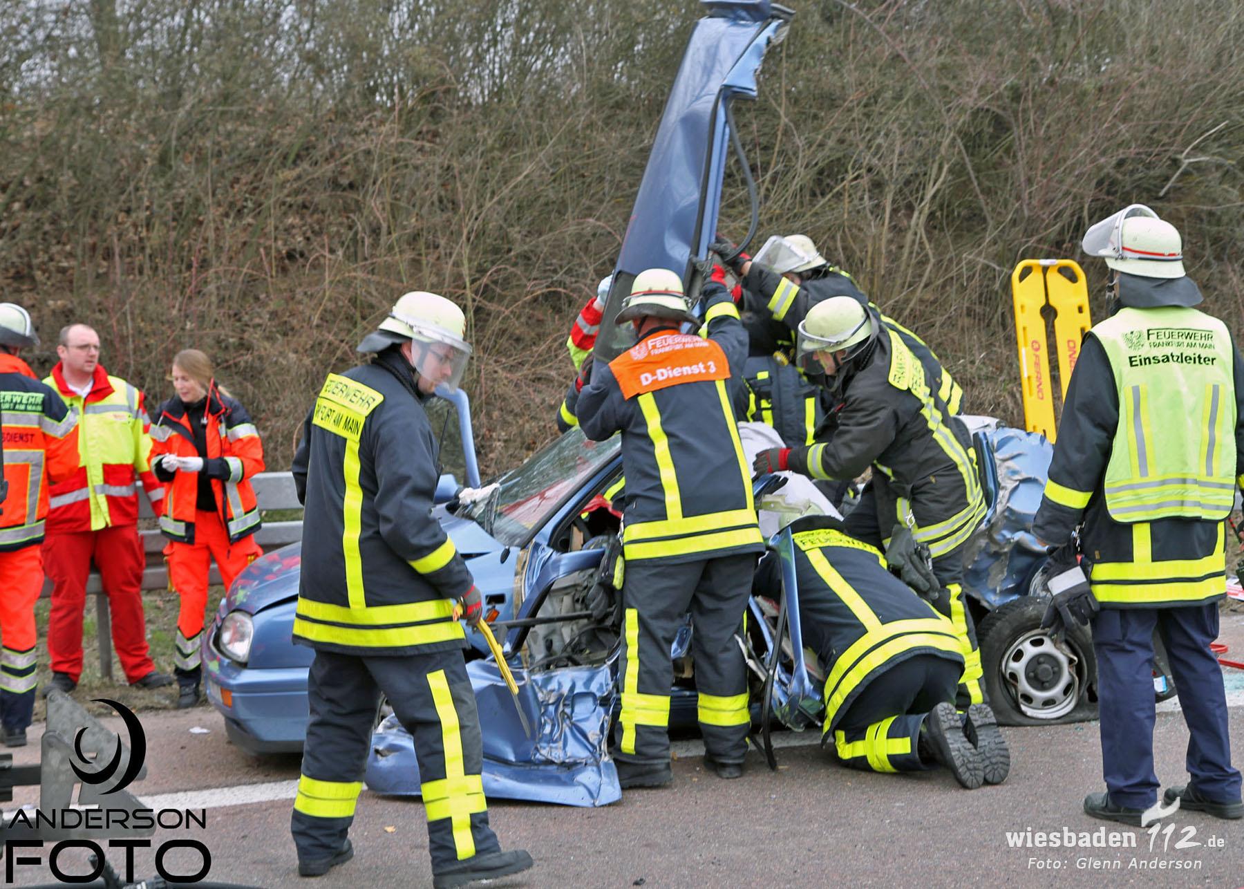 Unfall Biebesheim