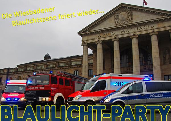4. Wiesbadener Blaulichtparty am 11. Mai – Wiesbaden112.de verlost 5 mal 2 Karten