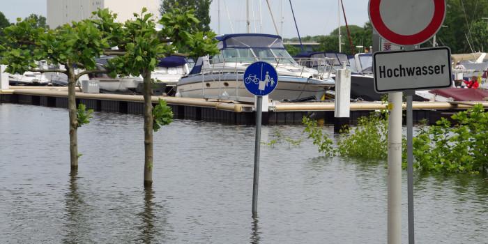 Wiesbaden kämpft gegen steigende Wasserpegel
