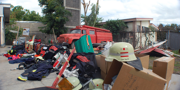Feuerwehr Niedernhausen sendet Hilfspaket – Sachspenden für Feuerwehr in Nicaragua