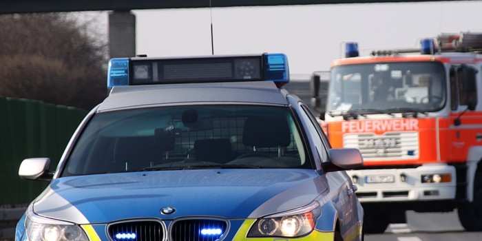 Mannschaftsbus des FC Bayern bei Bischofsheim in Unfall verwickelt