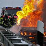 Parkendes Auto in Bierstadt abgebrannt