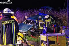 Polizei sucht Ersthelfer nach Geisterfahrer-Unfall auf A671