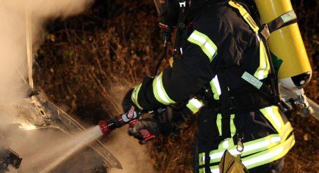 Linienbus in Auringen in Brand geraten – Fahrgast verletzt