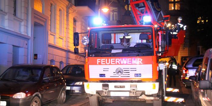 Balkone in Dotzheim in Brand gesteckt