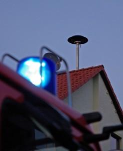 Sirenenprobe in Wiesbaden am Dienstagabend