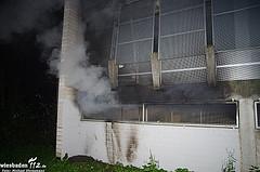 Zwei Verletzte bei Feuer in Parkhaus