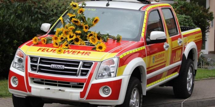 Feuerwehr Ginsheim-Gustavsburg finanziert neuen Gerätewagen über Spenden