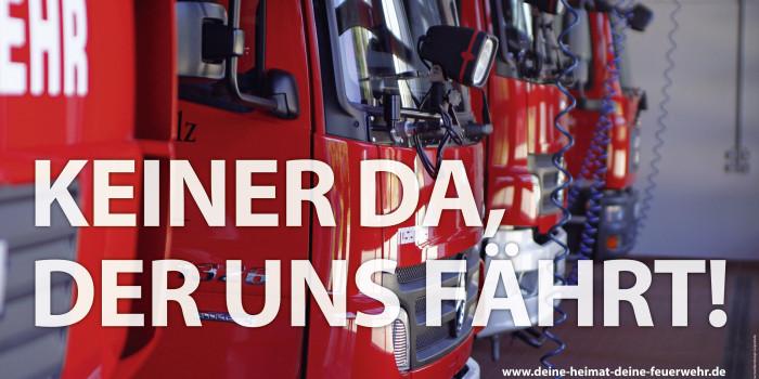 """Rheinland-Pfalz ruft zum Mitmachen auf: """"Deine Heimat. Deine Feuerwehr!"""""""