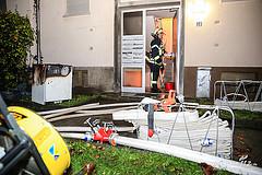 Schon wieder brennt es in der Teplitzstraße – Feuer im Treppenraum