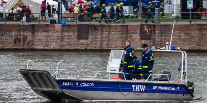 THW-Helferin aus Rüsselsheim stirbt nach Bootsunfall auf der Elbe