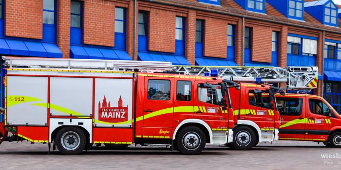 Zwei neue Drehleitern und ein neues Fahrzeugdesign für die Feuerwehr Mainz