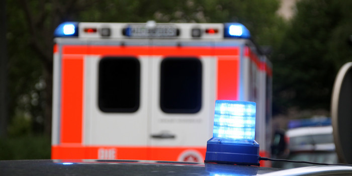 Ampel in der Hagenauer Straße umgefahren