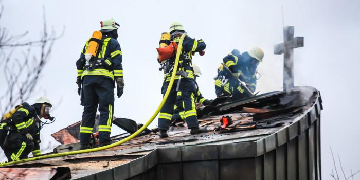 Großalarm in Kelkheim: Feuer in Alten- und Pflegeheim