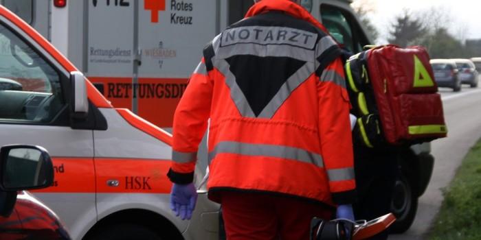 In den Gegenverkehr geraten: Verkehrsunfall mit mehreren Verletzten bei Heidenrod