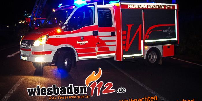 Das Wiesbaden112-Team wünscht einsatzfreie Weihnachten & einen sicheren Start ins neue Jahr
