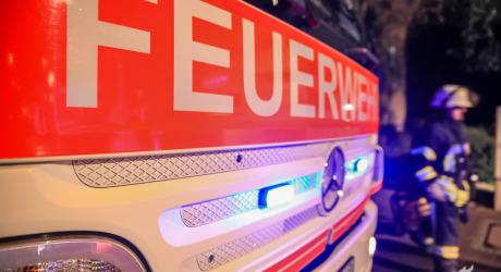 30.000 Euro Schaden durch Mülltonnenbrand in Wiesbaden-Delkenheim