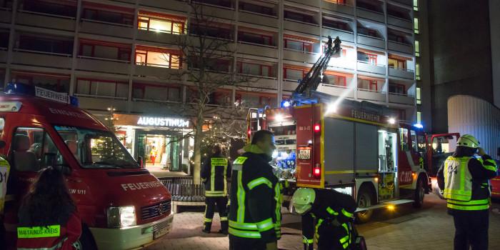 Küchenbrand in Seniorenwohnanlage in Bad Soden endet glimpflich