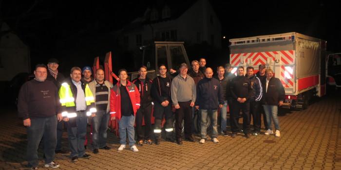 Dramatische Verhältnisse nach Starkregen: Wallufer Hilfskonvoi startet nach La Londe les Maures
