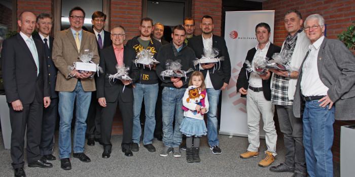 Aus der brennenden Wohnung gezogen – Aufmerksame Bürger aus dem Main-Taunus-Kreis geehrt