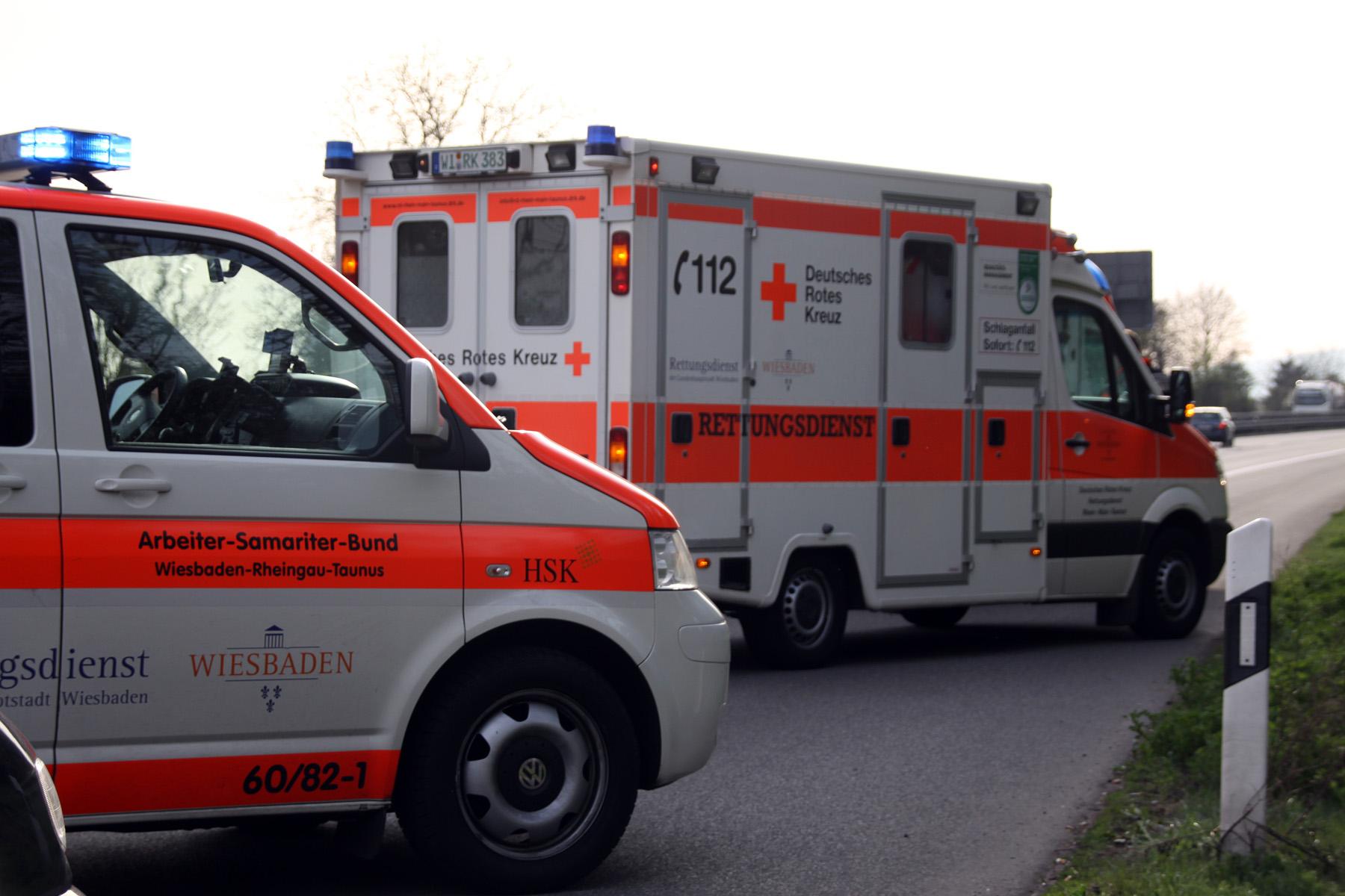 Unfall Rheingau B42