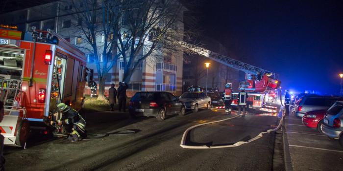 Zwei Balkonbrände in der Silvesternacht in Rüsselsheim