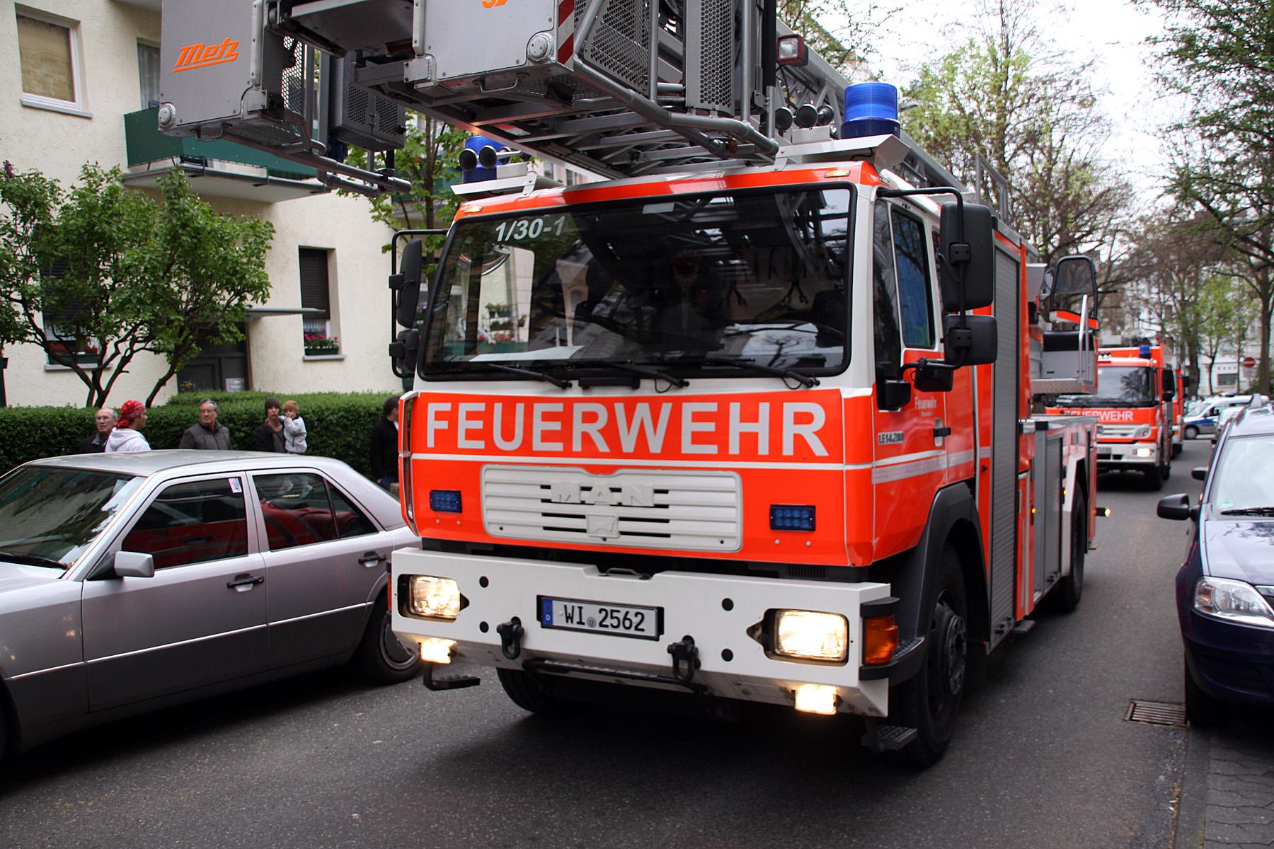 Feuerwehreinsatz Bischofsheim