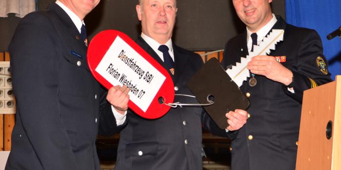 Neue Stadtbrandinspektion bei der Freiwilligen Feuerwehr Wiesbaden