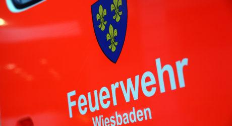 Erneut ereignisreicher Tag für die Feuerwehr Wiesbaden