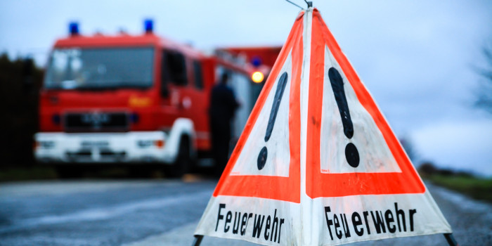 Katastrophenschutz-Übung des Rheingau-Taunus-Kreises am Kloster Eberbach